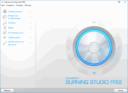 Ashampoo Burning Studio Free - главное меню