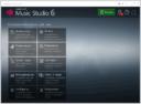 Ashampoo Music Studio - главное меню