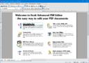 Foxit Advanced PDF Editor - главное меню