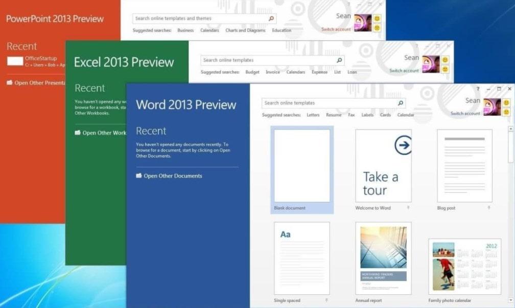 Программы Microsoft Office 2013