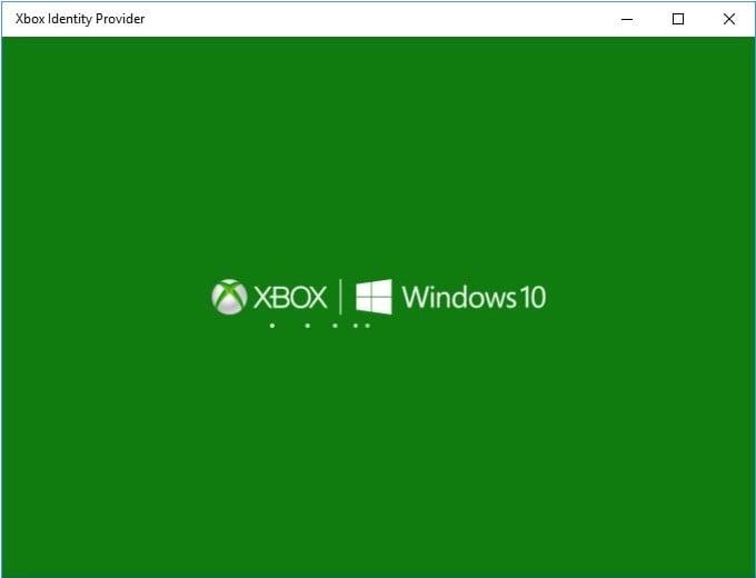 Изображение программы Xbox Identity