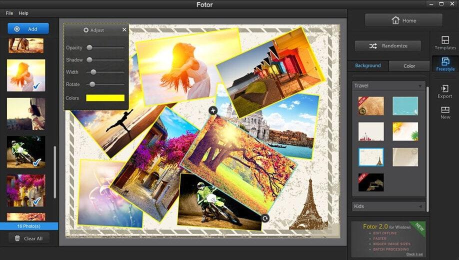 Программа Fotor