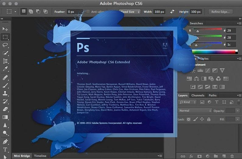 Графический редактор Фотошоп