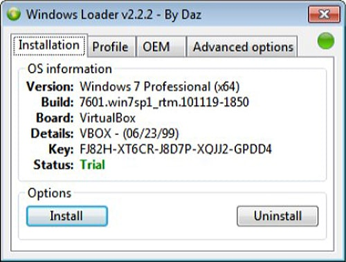 Скачать Windows Loader