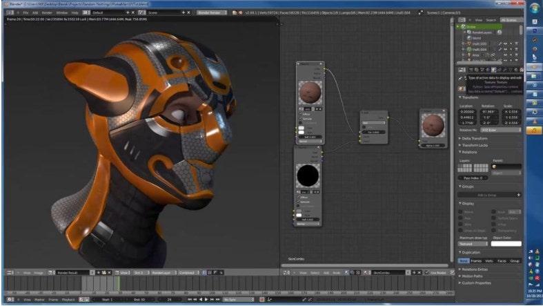 Визуализация в Blender 3