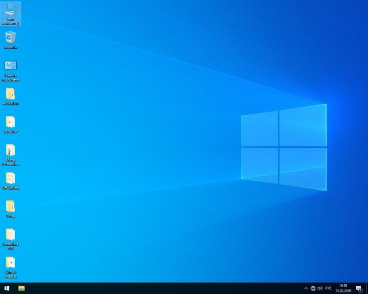 Оформление Windows 10 Lite x64