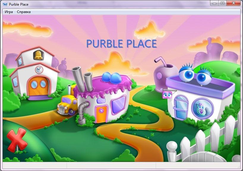 Интерфейс игры Purble Place