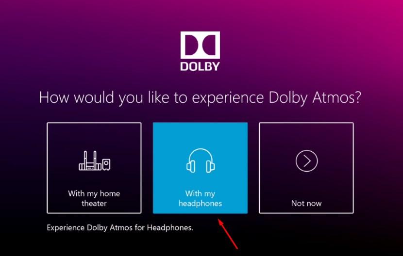 Технология Dolby Atmos for Headphones