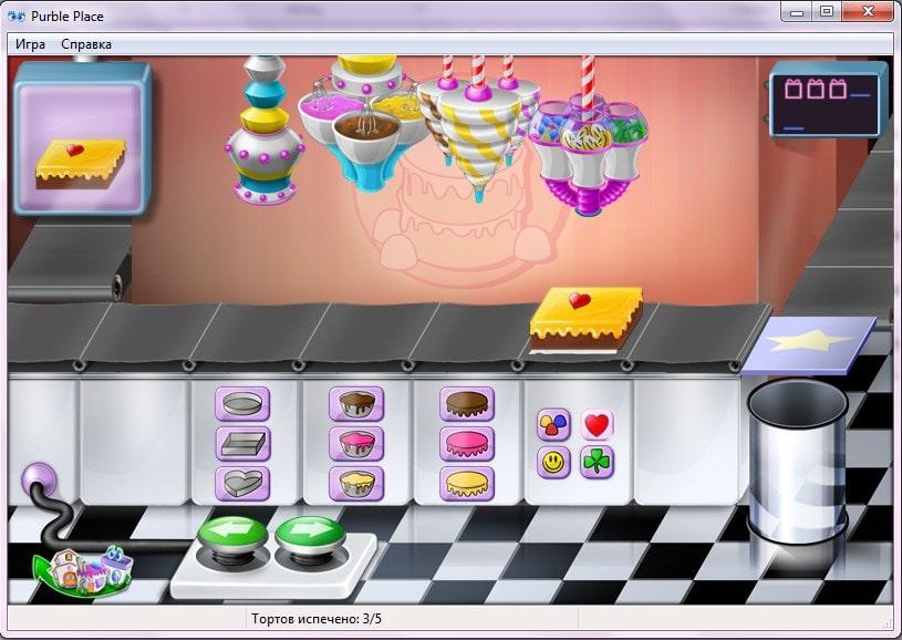 Игра Comfy Cakes в Purble Place